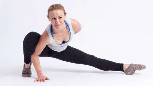Gesäßmuskulatur in der Rückenschle für entspannten Rücken stärken