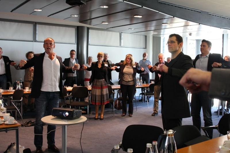 Der Rückenexperte und Autor Hans-Dieter Kempf beim Rückentag des Lionsclub Ettlingen!