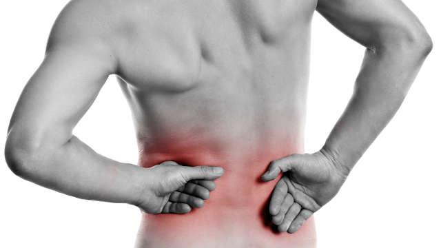 Rückenbeschwerden an verschiedenen Schmerzzonen im Rücken